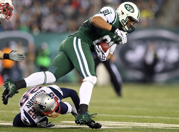 New York Jets tight end Dustin Keller