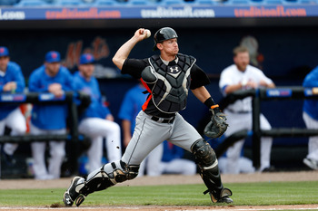Marlins catcher Rob Brantly is expected to be the starter for a full season in 2013.