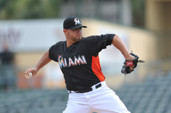 Ricky Nolasco will be the Marlins ace when the 2013 season begins. He has never been the Marlins' No. 1 pitcher before despite being the franchise's winningest pitcher.