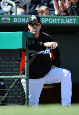 Marlins manager Mike Redmond and some members of his staff will have a bigger role in 2013 by simply being coaches in a major league dugout for the first time.