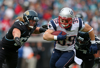 Woodhead has been a capable third-down back for the Pats.