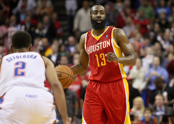 Houston Rockets' James Harden