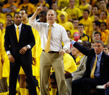 Three-point shooting has been a staple of John Beilein's offense for decades.