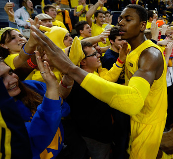 Glenn Robinson III proved the Michigan Wolverines need his production more than one of his teammates'.