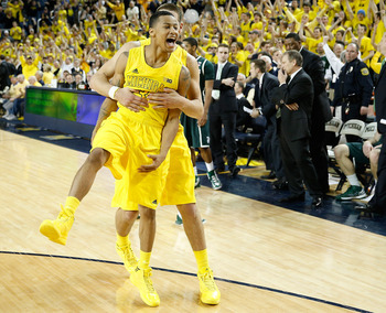 The Michigan Wolverines would not be in contention for a No. 1 seed without Trey Burke.