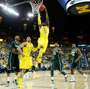 Tim Hardaway Jr. helped the Wolverines get out in transition early and often.