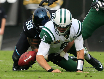 Mark Sanchez proved during the 2012 season why he cannot be the franchise's quarterback.