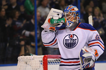 Devan Dubnyk has been solid this season and is rounding into a solid option for the Oilers.