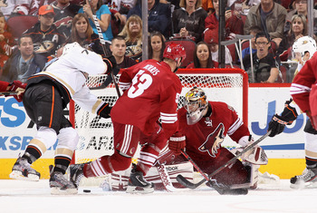 The Ducks finish playing the Coyotes three times in a row this week as both teams look to push forward their playoff hopes