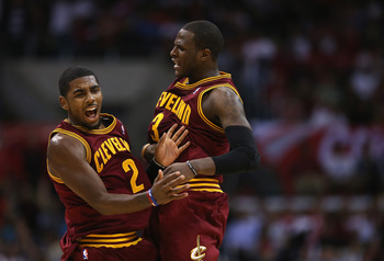 Already Irving and Waiters are forming a tough backcourt.