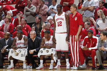 The bench did not play well at all against Wisconsin.
