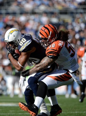 Rey Maualuga is the type of inside linebacker that would play well in KC's current 3-4 system