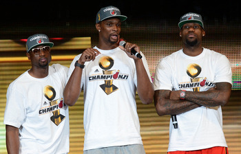 Miami has the best threesome in the league.