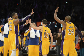It has been a rocky first season together for the new-look Lakers.