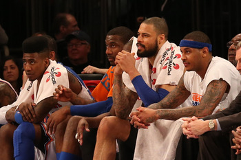 The Knicks have one of the best frontcourts in the league.
