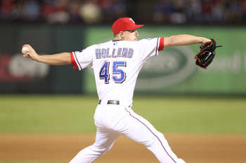 Derek Holland will attempt to shut down Canada for Team USA in Game 3 of Round 1.