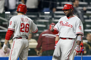 Ryan Howard (right) and Chase Utley (left) are two of many aging and injury-prone stars on the Phillies that simply cannot compete like they used to. The Phillies may fall to 4th place as a result.