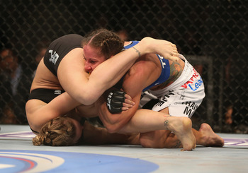 Rousey vs. Carmouche at UFC 157