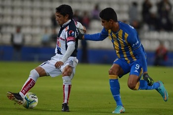 Ángel Reyna scored his third goal of the season. Photo: Mexsport