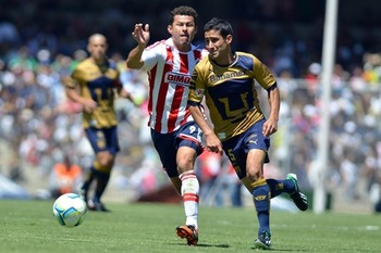 Pumas and Chivas performance was disappointing. Photo: Mexsport