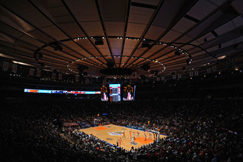 Madison Square Garden has hosted the Big East Tournament every year since 1983.