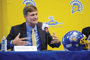 http://www.sfexaminer.com/sports/college/2012/12/ron-caragher-named-new-san-jose-state-football-coach