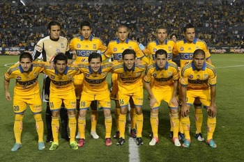 Tigres is the only undefeated team of Clausura 2013. Photo: Mexsport