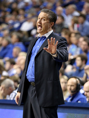 John Calipari's team could miss the tournament after winning the title last season.