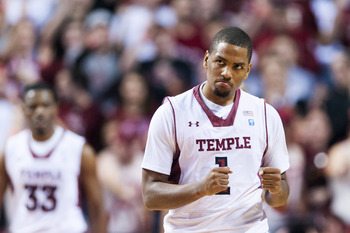 Khalif Wyatt hopes to lead Temple to the tournament in his senior season.