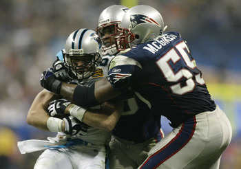 Willie McGinest, Patriots legend
