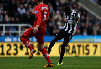 Cisse capitalizes on Southampton's high line