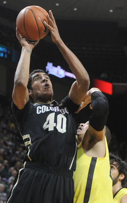 Colorado freshman forward Josh Scott.