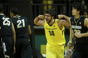 Oregon senior forward Arsalan Kazemi. Bruce Ely/The Oregonian