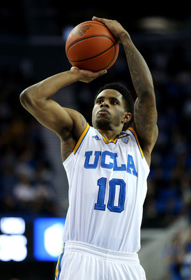 UCLA senior guard Larry Drew II