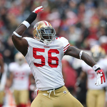 Tavares Gooden has played mostly on special teams for the 49ers.