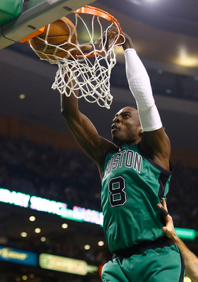 Jeff Green's electric dunks and outside shooting has helped C's.