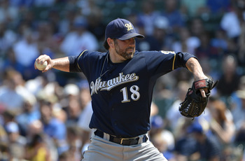 Shaun Marcum is a solid starter when healthy.