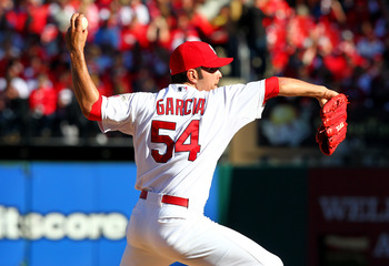 Jaime Garcia could eventually put it all together and break out.
