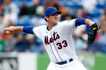 Matt Harvey made an impressive debut with the Mets last season.