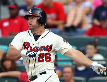 The infuriating Dan Uggla could hit 30 homers again.