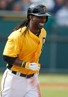 Andrew McCutchen is the star of the show for Pittsburgh.