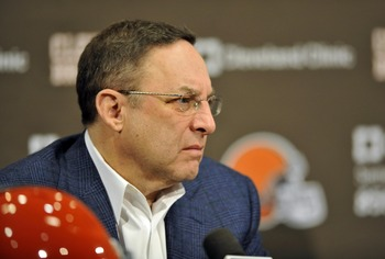 Browns CEO Joe Banner
