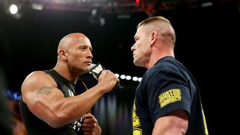 Cena vs. Rock again? (photo credit: wwe.com)