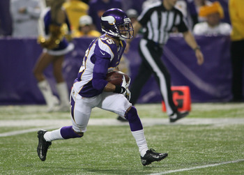 Marcus Sherels is a serviceable punt returner who struggles in coverage.