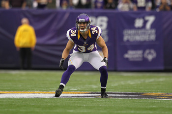 Andrew Sendejo is a 25-year-old backup safety.