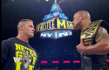 "WrestleMania XXX ""Thrice in a Lifetime"" is a legitimate concern right now. Source: WWE.com"