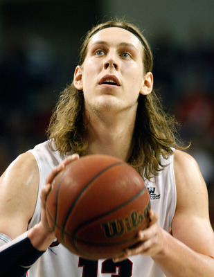 Gonzaga junior forward Kelly Olynyk.