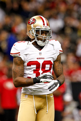 Dashon Goldson was not franchised by the 49ers this year.