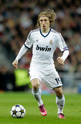 Luka Modric has not had it easy adjusting to life in Spain.