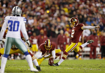 Kai Forbath took to the field in the middle of the season and promptly set a record for field goals made to start a career, giving the Redskins their first reliable kicker since the early years of John Hall.